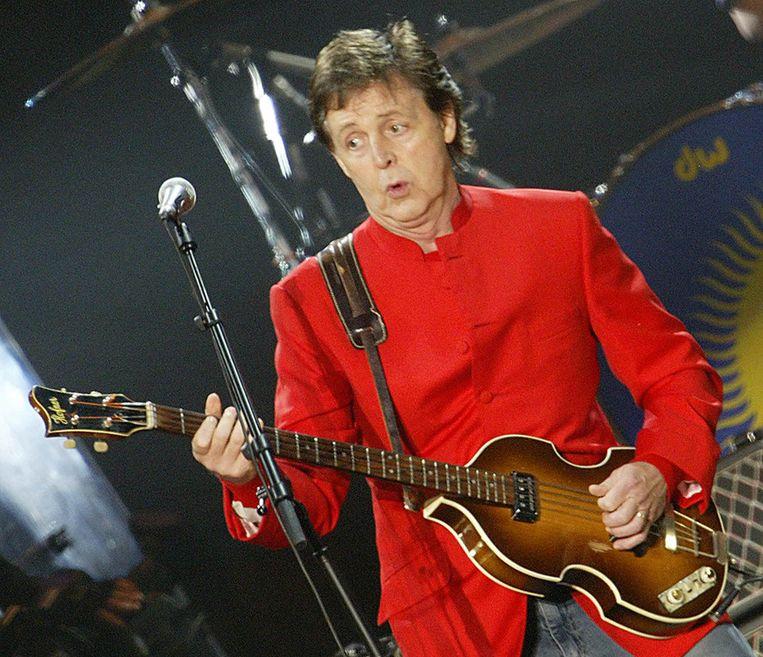 Paul McCartney. Beeld afp