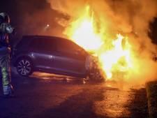 Auto uitgebrand in Mijdrecht, politie doet onderzoek