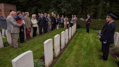 Remembrance voor 100 jaar geleden gesneuvelde soldaat