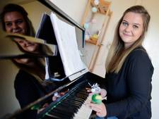 Kinderen in therapie, die helpen ze met muziek in Holten