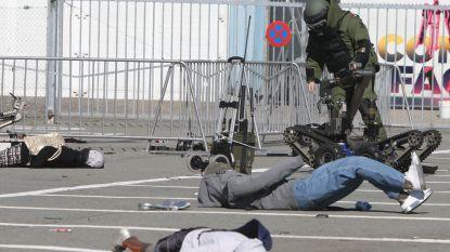 Gentse ordediensten oefenen op terroristische aanslag