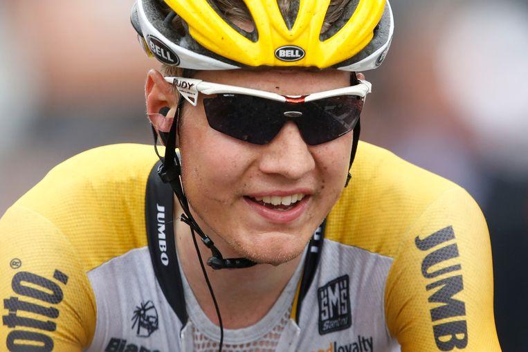 Wilco Kelderman start zondag in de etappekoers Parijs-Nice. Beeld anp