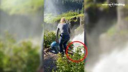 Huwelijksaanzoek loopt helemaal fout: ring verdwijnt in waterval