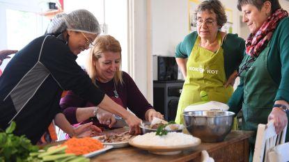 """Vrouwenorganisatie KVLV en sociaal restaurant de RuimteVaart lanceren nieuw kookboek: """"Samen koken is een goed recept voor de diverse samenleving"""""""