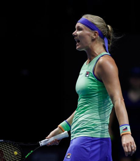 Sprong Bertens op WTA-ranking na vroege exit Svitolina en Bencic
