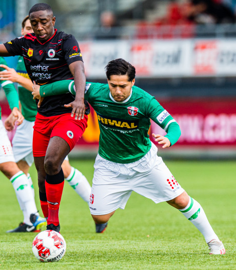 FC Dordrecht beloont zichzelf niet, ondanks goede eerste helft