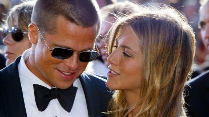 Jennifer Aniston draagt nog steeds de verlovingsring van Brad Pitt