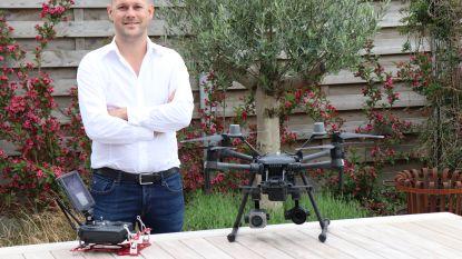 """Dronebedrijf 'We drone it' uit Aalter: """"Vanuit lucht ziet alles er anders uit"""""""