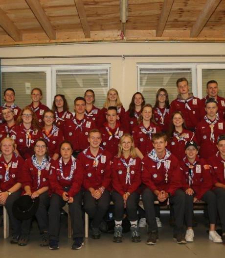 Troep Bossche Bollen' op weg naar World Scout Jamboree in VS