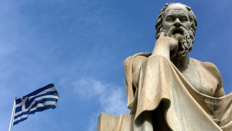 De Griekse filosoof Socrates. Beeld REUTERS