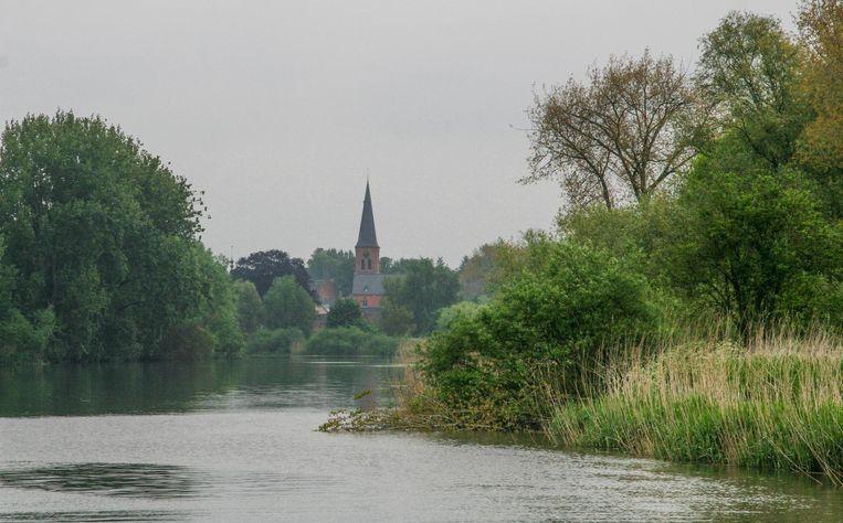 De monding van de Durme in de Schelde kan nu ook dienen als laatste rustplaats.