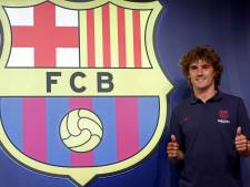 Griezmann arriveert in Barcelona