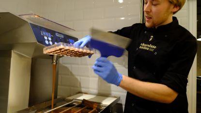 Vissenparadijs is nu walhalla voor chocoladefans