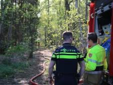 Weer bosbrand in Brestbos Boxmeer