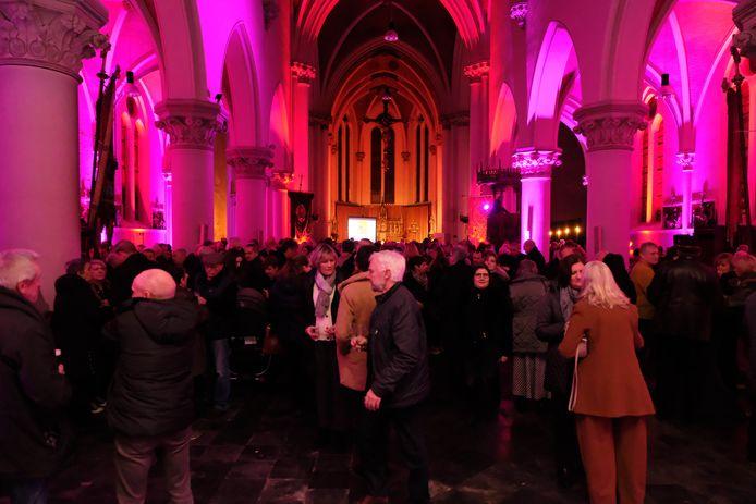 De nieuwjaarsreceptie van de gemeente Rumst vond voor het eerst plaats in de Sint-Jozefkerk in Terhagen.