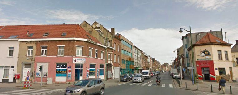 De Bergensesteenweg in Anderlecht.