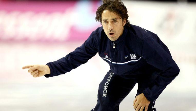 De afgelopen twee jaar was Veldkamp bondscoach voor de Amerikaanse schaatsploeg. Foto ANP Beeld