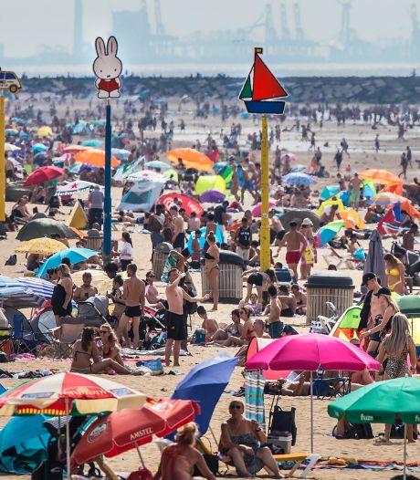 Reddingsbrigade waarschuwt opnieuw: kans op onweer, vermijd het water