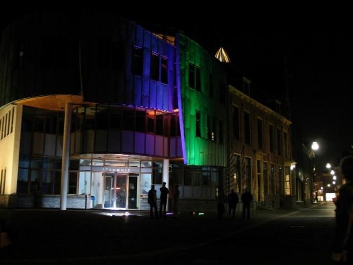 LED verlicht gebouwen op aparte manier | Zutphen | destentor.nl