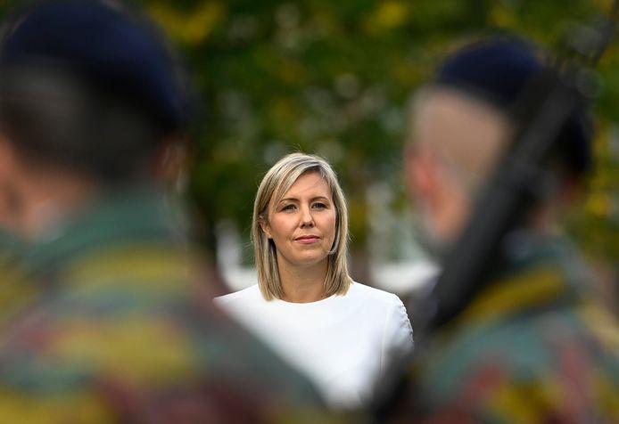 La ministre de la Défense, Ludivine Dedonder (PS)