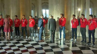 LIVE. Vanasch, Briels, Van Doren en bondscoach McLeod staan de pers te woord, straks worden Red Lions gehuldigd op Grote Markt in Brussel