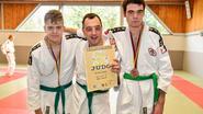 Judoka's Kumiuchi behalen medailles op WK G-judo