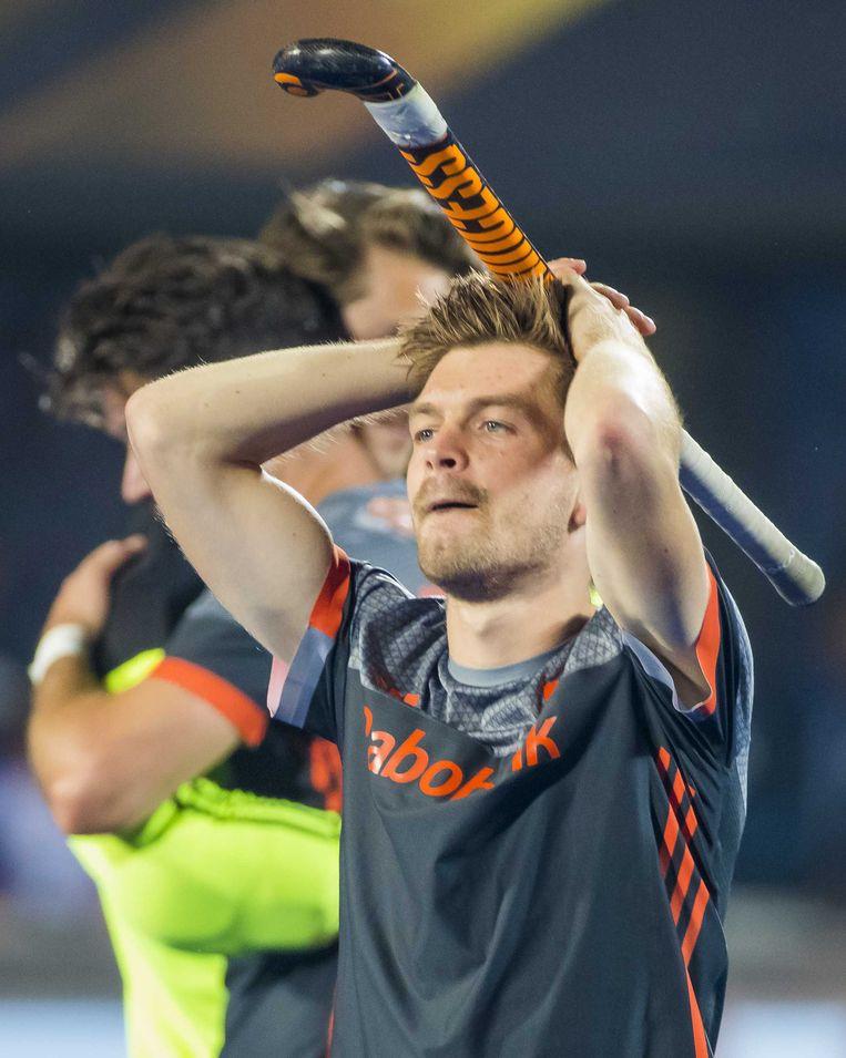 Belgen blijven koel bij zinderend slot finale WK hockey