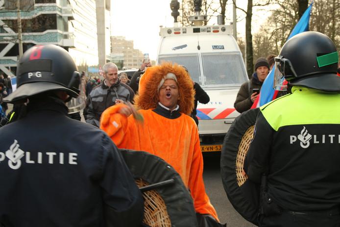 Boerenprotest ministerie van Landbouw Den Haag