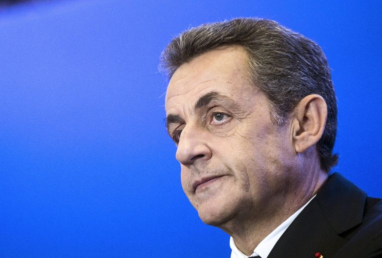 Nicolas Sarkozy. Beeld anp