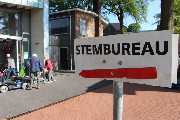 Stembureau in Kulturhus Beltrum