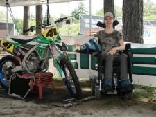Motorcrosser met een dwarslaesie: ineens was opstaan voor Ruben van de Laar geen optie meer