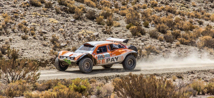 Opnieuw vroegtijdige uitschakeling voor Ebert Dollevoet in de Dakar Rally.