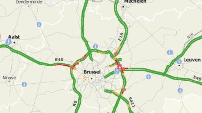Na moeizame ochtendspits ook verkeershinder rond Brussel