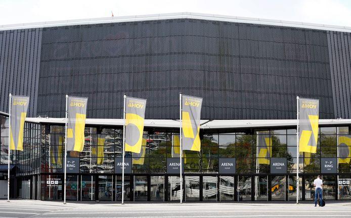 Rotterdam Ahoy moet de agenda nu leegruimen voor het Eurovisie Songfestival.