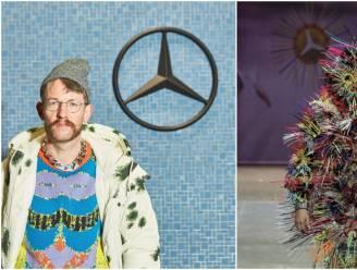Deze Belgische designer mocht de Berlijnse modeweek openen met zijn extravagante ontwerpen