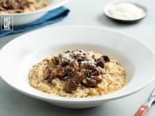 Wat Eten We Vandaag: Truffelrisotto met prosecco