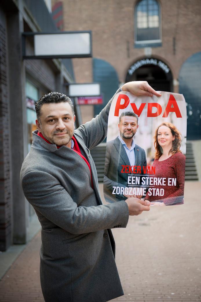 Ammar Selman van de PvdA.