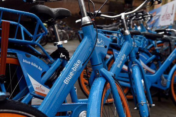 Het aanbod Blue Bike wordt uitgebreid, in Kortrijk