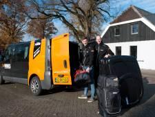 Sallands duo met mountainbike naar de andere kant van de wereld om 'legende' te worden