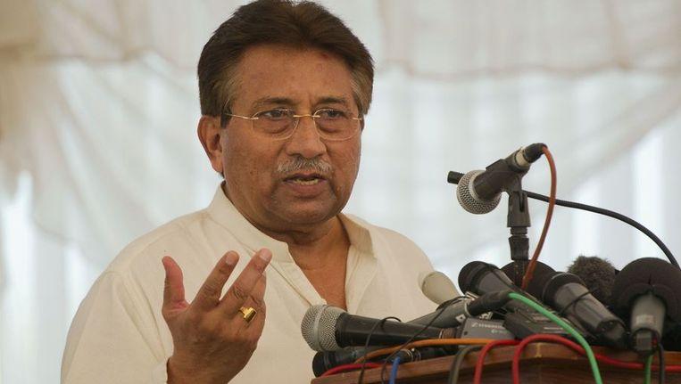 Pervez Musharraf Beeld reuters