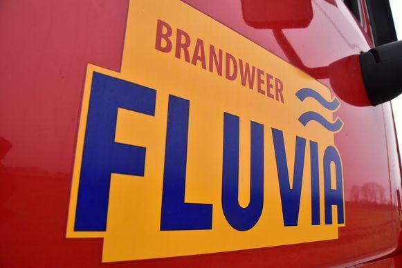 De brandweer van de zone Fluvia snelde ter plaatse om het brandje te blussen.
