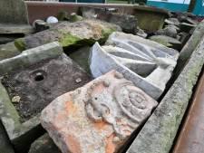 Eeuwenoude ornamenten in Oldenzaal gaan niet naar vuilstort