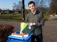 LAKS-voorzitter Pieter Lossie (18): 'Vanuit mijn slaapkamer voer ik conference calls met minister Slob'
