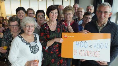 OKRA Deinze Centrum en Petegem schenkt 400 euro aan De Regenboog