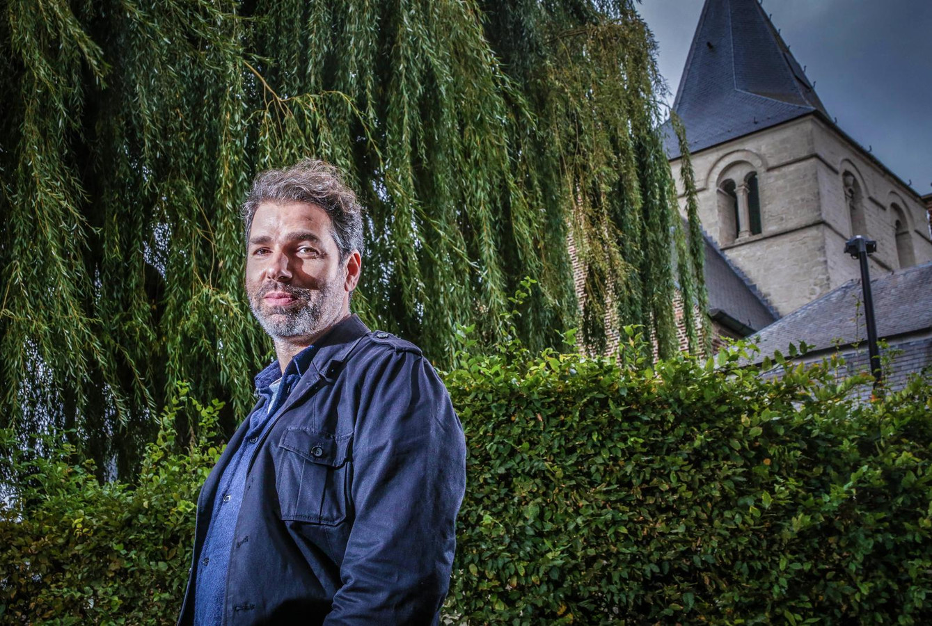 Klaas Delrue, frontman van Yevgueni.