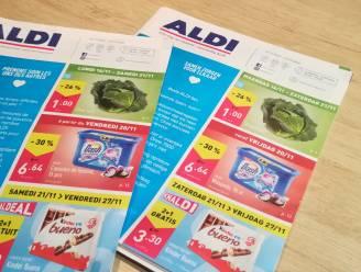 """Tweetalige folder Aldi zet kwaad bloed in Vlaamse rand: """"Gevolg van verbod op verkoop niet-essentiële goederen"""""""