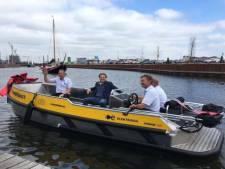 Havenmeesters op st(r)oom het water op in Harderwijk