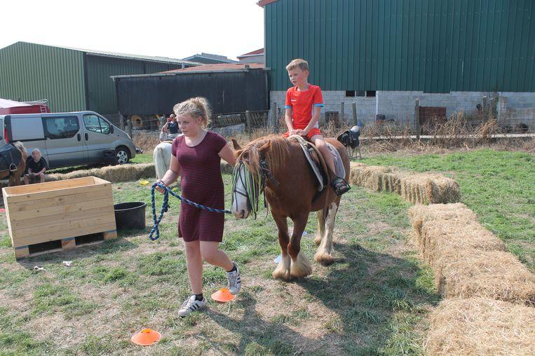 Deze namiddag was het de beurt aan de kinderen op Feestend Beert.