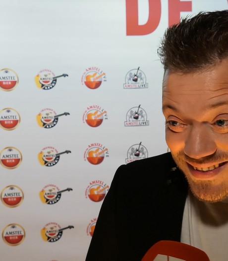 Op de rode loper van De Vrienden van Amstel Live!