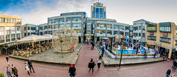 Archieffoto: het Stadhuisplein in Zoetermeer.